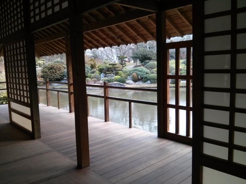 Templo rodeado de su laguito. Todo muy japonés :)