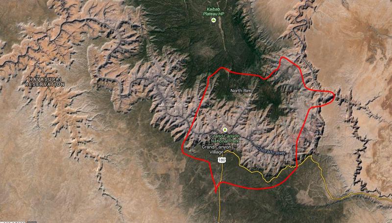 Es como la Muralla China; no sé si se puede ver desde el espacio, pero sí se puede ver desde un helicóptero.